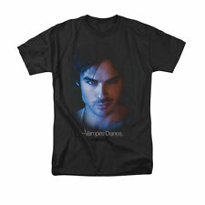 the Vampire Diaries - DAMON - Ian Somerhalder Up Close - Unisex Adult T-Shirt