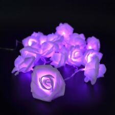 Rose Fairy String Lights Wedding Party Christmas Battery Operated Outdoor/Indoor