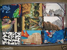 ANIMALS,FRUITS,VEGGIES & LIGHTHOUSES HAND CRAFTED REMOVEABLE PILLOW CASE COVERS