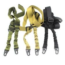 Tactical 2 Points Rifle Gun Sling Strap System Airsoft 2 Points Gun Slings