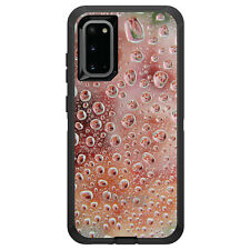 OtterBox Defender for Galaxy S5 S6 S7 S8 S9 PLUS Red Water Droplets Glass