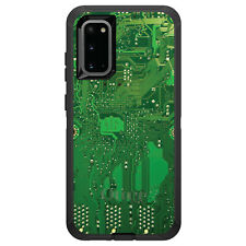 OtterBox Defender for Galaxy S5 S6 S7 S8 S9 PLUS Green Circuit Board