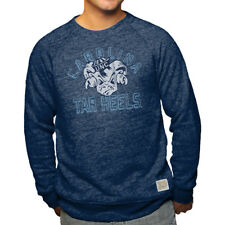 North Carolina Tar Heels Adult Vintage Logo Crewneck Sweashirt - Navy
