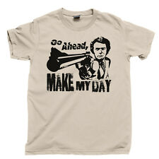 MAKE MY DAY T Shirt Dirty Harry Clint Eastwood Movie Tee DVD Blu Ray Collection