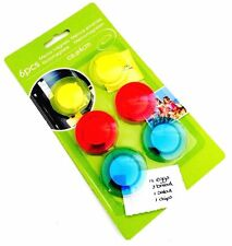 Strong Round Fridge Memo Magnets Magnetic Kitchen Notice Board Note Holder