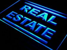 "16""x12"" i610-b Real Estate Rent Lease Agent Neon Sign"