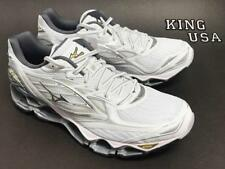 Men's Mizuno Wave Prophecy 6 Running Athletic Shoes White