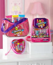 Shopkins Playset Girls Nail Polish Beauty Lip Balm Bath Gift Sets Kids Toys
