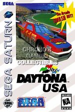 RGC Huge Poster - Daytona USA Sega Saturn BOX ART - SAT022