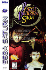RGC Huge Poster - Panzer Dragoon Saga Sega Saturn BOX ART - SAT050