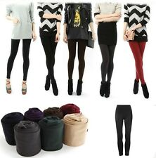 Hot Women Warm Trouser Pant Thick Tights Skinny Stretch Footless Clothing Pants