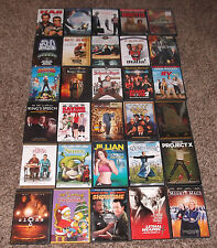 HUGE DVD LOT 85 titles all genres comedy action childrens westerns etc. LOOK