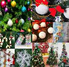 Christmas Party Ornaments Snowball Balls bow deer Xmas Tree Hanging Decoration