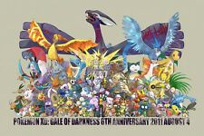 RGC Huge Poster - Pokemon XD Gale Of Darkness Nintendo GameCube - EXT101