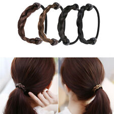 Fashion Women Straight Wig Elastic Hair Band Rope Scrunchie Ponytail Holder