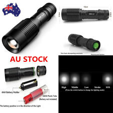 3000LM CREE XM-L2 LED Zoomable Focus Flashlight Super Bright Light Torch Lamp