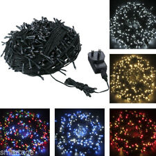50-100M 250LED 500LED Christmas Xmas Wedding Party Outdoor Fairy String Lights