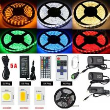 COLOUR CHANGING LED MOOD IDEAS LIGHT TV SMG RGB 3528 5050 STRIP REMOTE DC12V