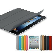 Magnetic Slim Leather Wake/Sleep Front Smart Case Cover W/Stand for iPad 2/3/4