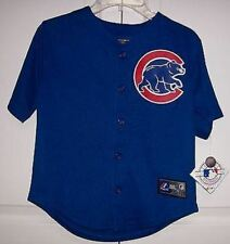 Chicago Cubs Boys Majestic MLB Baseball jersey Alternate Royal