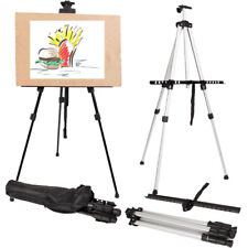 US Art Supply Artist Painting Drawing Board Tripod Easel Stand Floor W/ Display