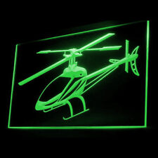 220024 Gunship Helicopter New professional Military Kill Exhibit LED Light Sign
