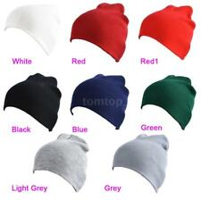 NEW Unisex Womens Mens Knit Baggy Beanie Hat Winter Warm Oversized Ski Cap T2M1