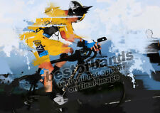 CYCLING Art A4 - Froome Wiggins LE TOUR DE FRANCE PRINTS SIGNED Print 1/20