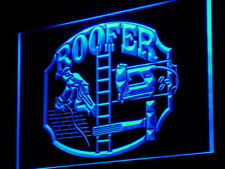 """16""""x12"""" j105-b Roofer Repairs Services Shop NEW Neon Sign"""
