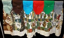Hanging Kitchen Towels - Coffee Cups - Coffee Pots