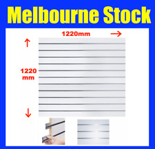 2 SIZES NEW SLATWALL SLAT WALL PANEL SHOP SHELF DISPLAY BOARD WALLS 2 Sizes