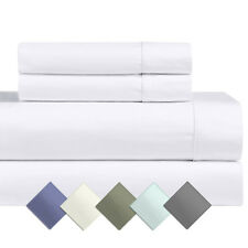 Standard OR King 2PC Pillowcases, Solid 1000 TC Cotton Blend Pillow Cases Set