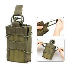 Magazine Holder Molle Single Pistol Mag Pouch Bag For M4 M16 AR15 Radio Airsoft