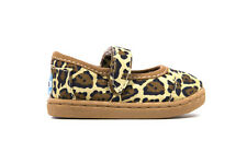 Toms Tiny Classic Mary Jane Natural Jaguar in Brown Sz 2-11 BINB Free Shipping