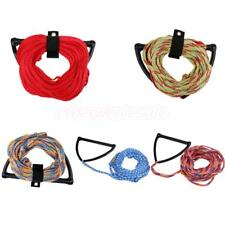 Deluxe 75' 1 Section Water Ski Rope Wakeboard Knee Board Tow Harness EVA Handle