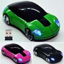 2.4GHz Cool Car Shape Wireless Cordless Optical Mouse USB Receiver For PC Laptop