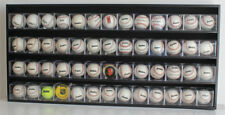 Baseball Cube Display Case Wall Shadow Box Cabinet, No door. HW15