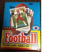 1989 Topps Football Unopened  Wax Pack Box 36 packs