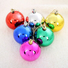 12x Christmas Balls Hanger Baubles Xmas Tree Ornament Christmas Decoration Gifts