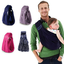 100% Cotton Infant Baby Toddler Kids Ring Sling Wrap Carrier Pouch HQ Newborn