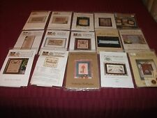 Packaged Cross Stitch Charts Most W/Fabric Various Brands U Choose