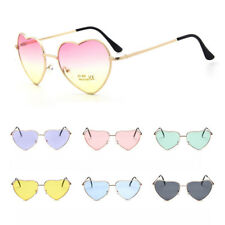 Womens Love Heart Shape Lens Sunglasses Eyewear Glasses Shades Party Festival