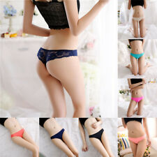 Womens Seamless V-string Briefs Panties Thongs G-string Lingerie Underwear Sexy
