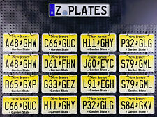 New Jersey License Plate - Garden State - Pick Your Plate