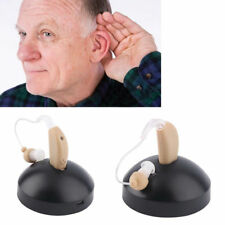 Digital Hearing Aid Aids Kit Behind the Ear Sound Voice Amplifier Audiphone