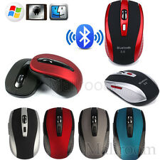 800-2400DPI Bluetooth Mouse Optical Mini Wireless Gaming Laptop Notebook