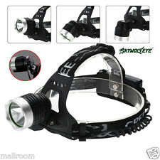 5000LM LED CREE XML T6 HEAD LAMP HEADLAMP HEADLIGHT 2 x 18650 Battery