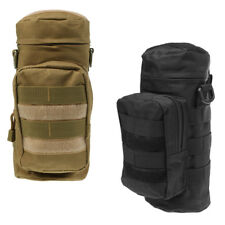 2pcs Outdoor Tactical Military Molle Water Bottle Bag Kettle Pouch Holder