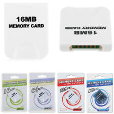 New High Speed 16MB 64MB 128MB 512MB Memory Card for Nintendo Wii Gamecube Game