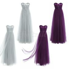 Womens Formal Bridesmaid Dress Long Evening Party Ball Prom Gown Cocktail Dress